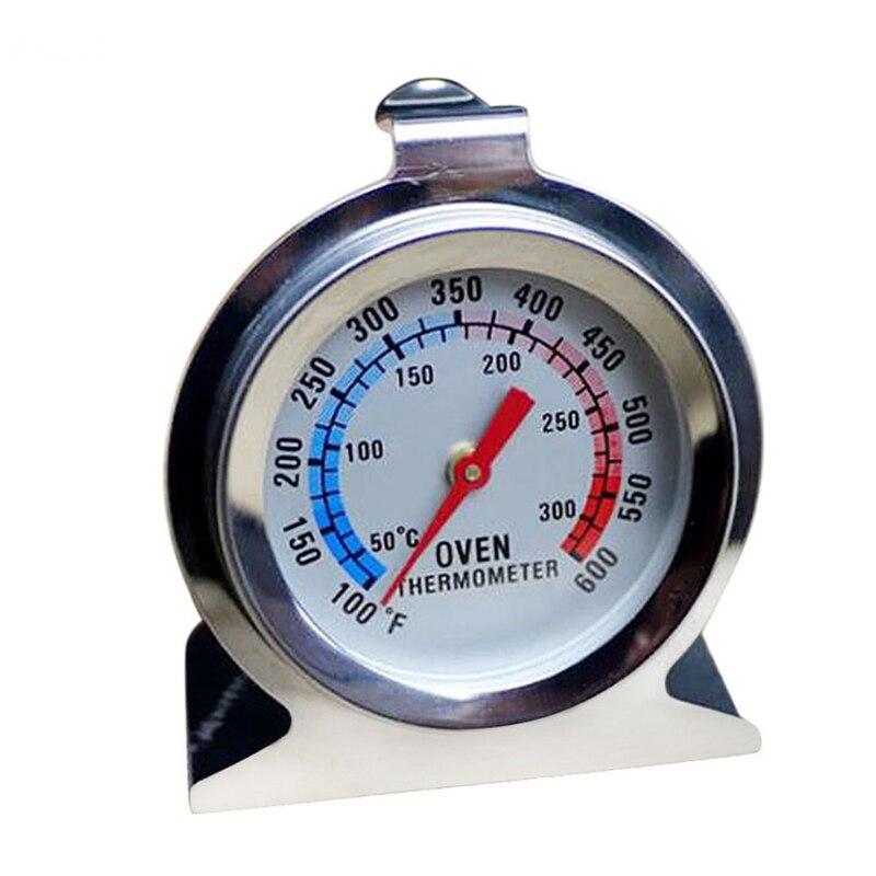 Büyük Kullanışlı BARBEKÜ Sigara Pit Grill Termometre ÖLÇER Sıcaklık Barbekü Kampı Kamp Cook Gıda