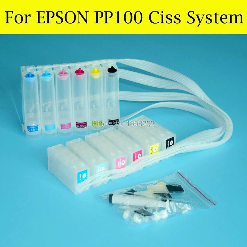 ФОТО 1 Set High Quality Ciss For Epson PP100 PP-100 PP100n Ciss System