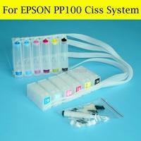 1 satz Hohe Qualität Ciss Für Epson PP100 PP-100 PP100n PP-100II PP50 PP-50 PP-100AP PP-100N Ciss System