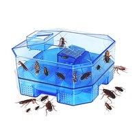 Ловушка для тараканов безопасный эффективный Анти тараканов Убийца Приманки Box Отпугиватель Дом Офис Кухня таракан содержит с 3 шт приманки...