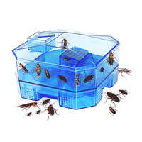 Cockroach Trap Safe Efficient Anti Cockroaches Killer Bait Box Repeller Home Office Kitchen Cockroach Contains With 3pcs Bait A