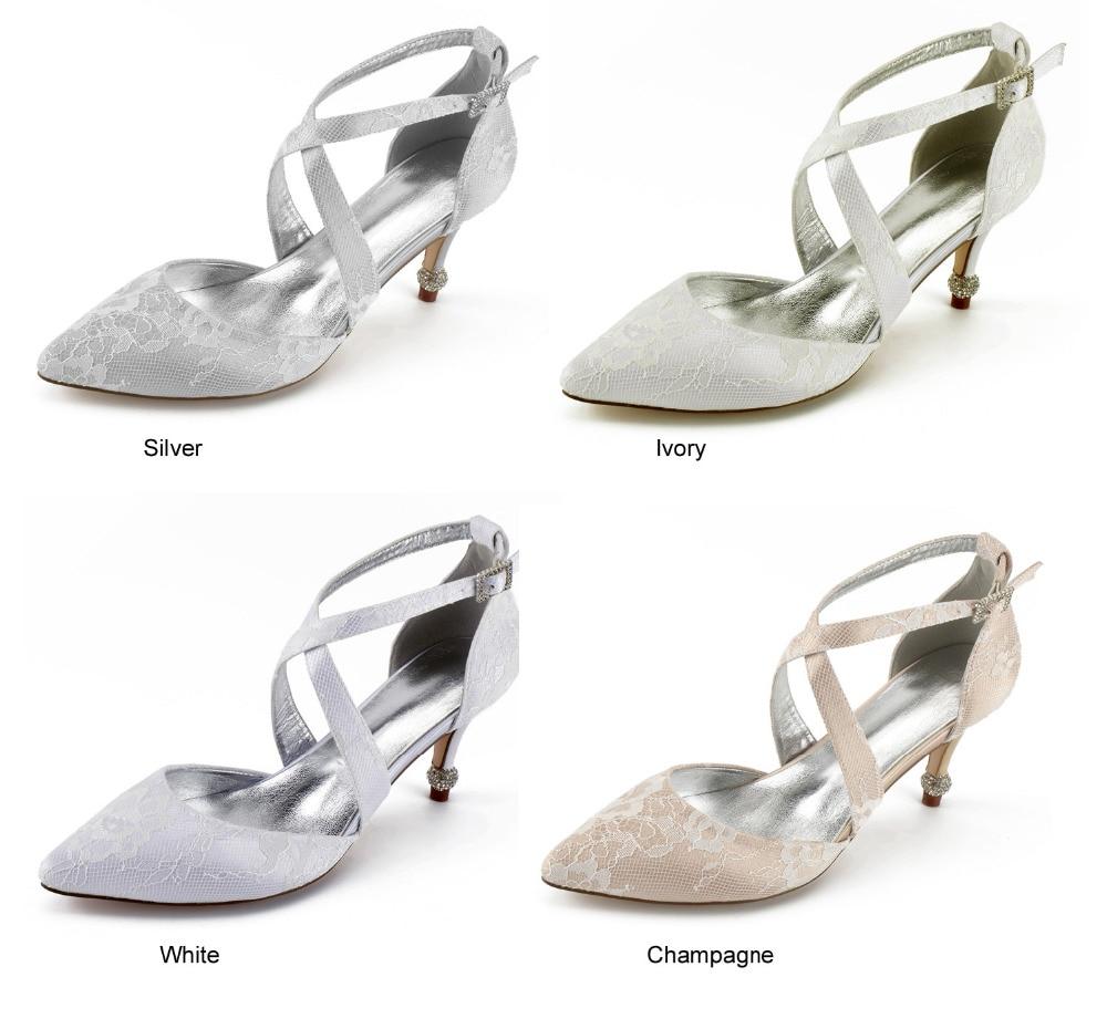 06485c8a1f Toe Vestido silver champagne Marfim Senhora Menina Cruzadas Bandas  Creativesugar Sapatos Noiva Prata Rendas Champanhe Branco Saltos ...