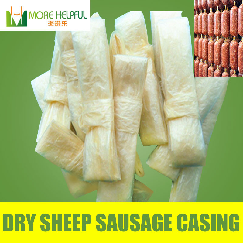 Best sales  natural dry sheep sausage skins Perfect quality meat tool