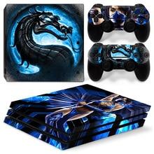 Dragão para PS4Pro Decalque Adesivo de Pele Para PlayStation 4 Pro # TN-P4Pro-1369 SonyPS4