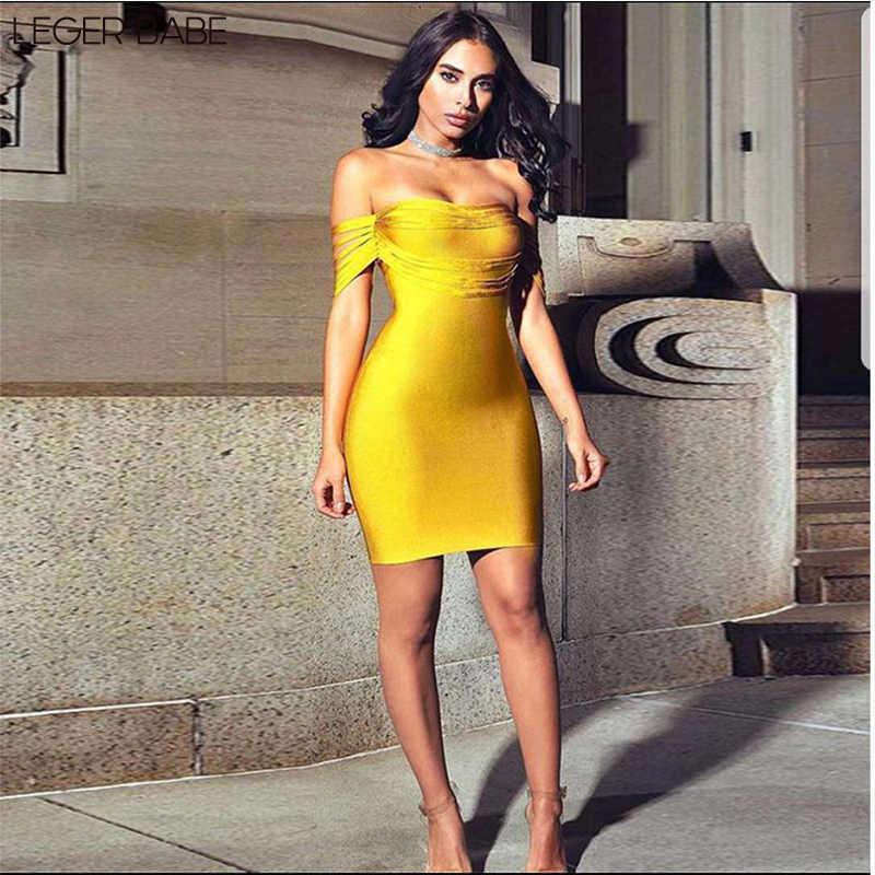 Кисточка вечерние повязка платье Красное Желтое новое облегающее платье коктейльное сексуальное с открытыми плечами праздничная одежда с кисточками Vestidos