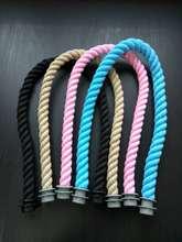 Новый 65 см 1 пара веревка ручка для Италия obag o одной ручке пляжная сумка модный стиль для obag аксессуары ручка