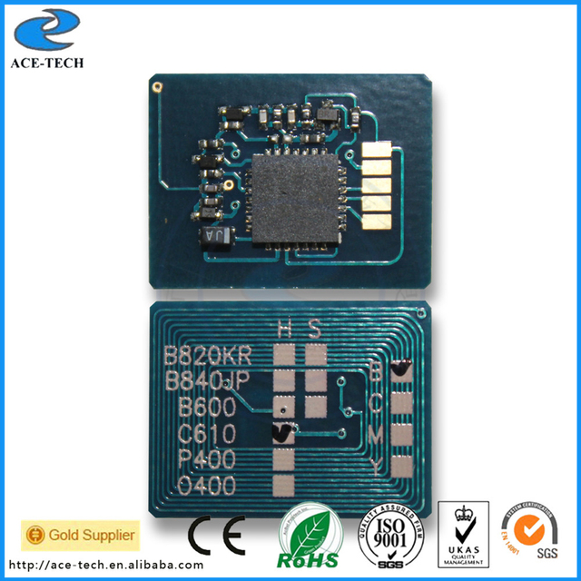 44844405~44844408  44844413~44844416 45079801~45079804 30K Drum chip for OKI C831 C811 C841 color laser printer cartridge
