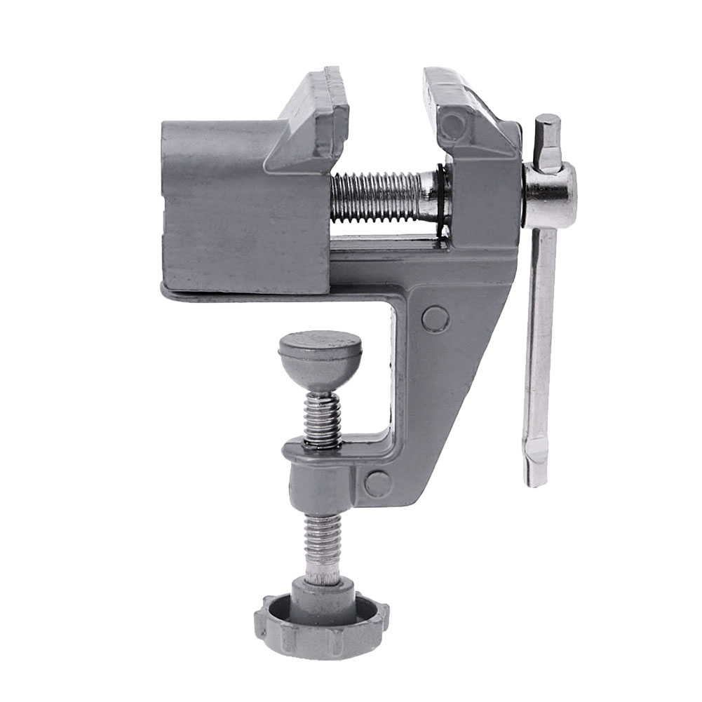 30mm Aluminium Alloy Machine Bench Screw Vise Mini Table Vice Bench Clamp Screw Vise for DIY Craft Mould Fixed Repair Tool 157g mini table vice aluminium alloy bench vise universal machine mini fixed repair tool widely used for diy craft clamp vise