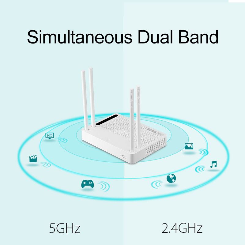totolink a3002ru ac1200 wireless router smart dual band 2 4ghz 5 0 rh aliexpress com