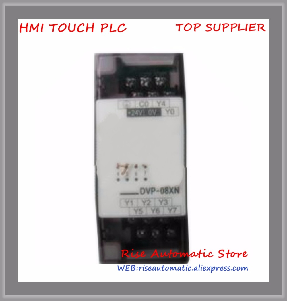 New Original Programmable Controller series Digital Extension Module 8-point 8DO NPN transistor DC power DVP08XN11T цена