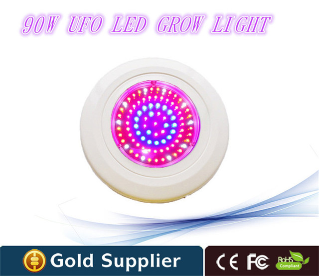 Good quality led ufo grow light 90W high power led grow lamp for ...