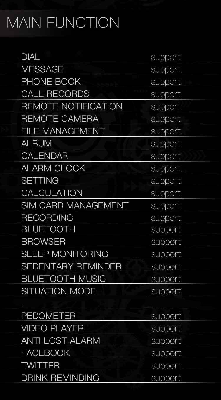 Torntisc Smart Watch T8 Smartwatch Call message notification Bluetooth Wristwatch Smartwatch men Support SIM TF Card With Camera (21)