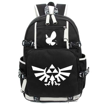 Hot Anime The legend of zelda Backpack Cosplay Fashion Canvas Bag Luminous Schoolbag Travel Bags все цены