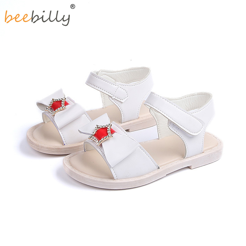 Girls Sandals 2018 Children Beach Shoes Girls Summer Princess Shoes Baby Girls Sandals Kids Slip-Resistant Sandals For 2-12T