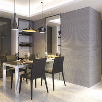 3D Wallpaper Modern Simple Black And Grey Vertical Striped Wall Paper Rolls For Living Room Dining Room Backdrop Wall Home Decor