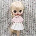 Бесплатная доставка Блайт Куклы Розовый Плащ + Белый Юбка Костюм для Блайт Куклы, озон, 1/6 30 см SD BJD Куклы