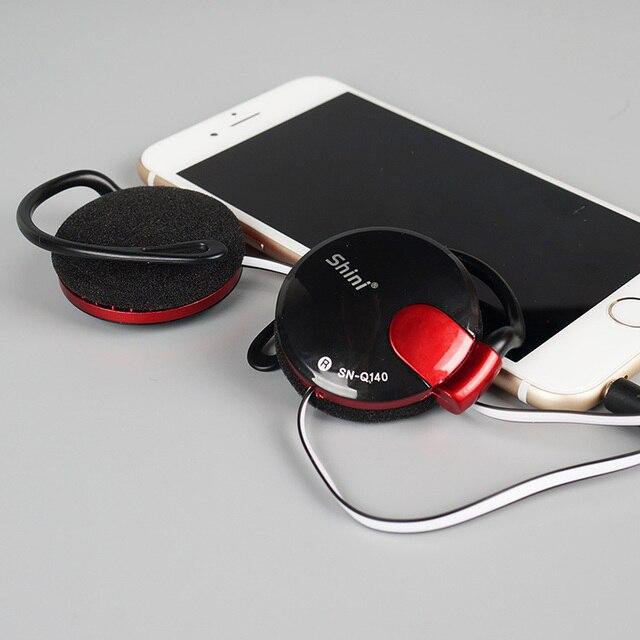 For Mobile Phone Iphone Xiaomi Headset Factory Price Wholesale 3.5mm Stereo ShiniQ140 Headphone Ear Hook Earphone
