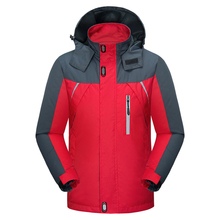 Men's Casual Hooded Windbreaker Windproof Waterproof Jackets (3 Colors)