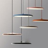Modern Pendant Light Danish Art Metal LED Pendant Lamp Living room Hanglamp Kitchen Light Fixture Indoor luminaire Nordic lamp