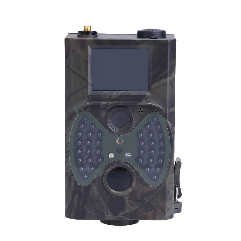 Hunting Camera New HC-300M scouting hunting HD GPRS MMS Digital Infrared Trail GSM IR Cameras EA14