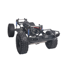 313Mm Wheelbase Assembled Frame Chassis For 1/10 Rc Crawler Car Scx10 Ii 90046 90047