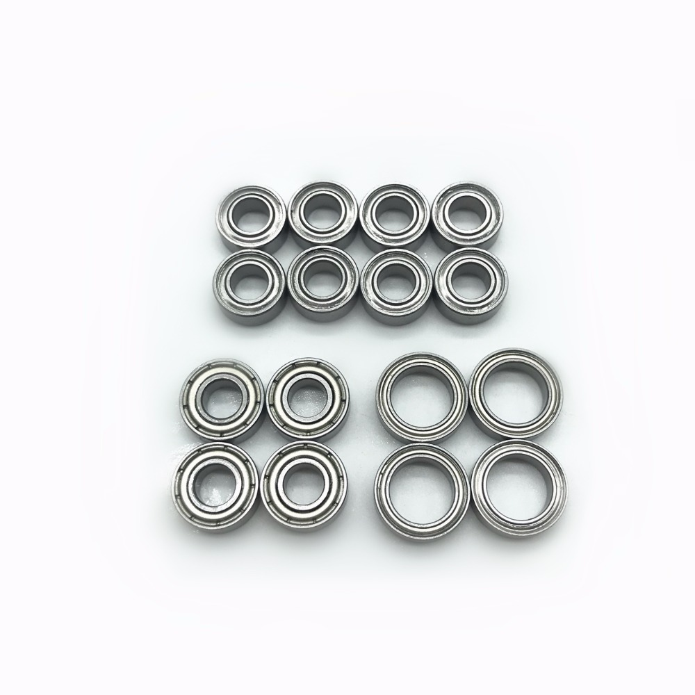 16pcs TT-02 Bearing Set Tamiya TT02 Complete Ball bearing kit Kugellager TT 0216pcs TT-02 Bearing Set Tamiya TT02 Complete Ball bearing kit Kugellager TT 02
