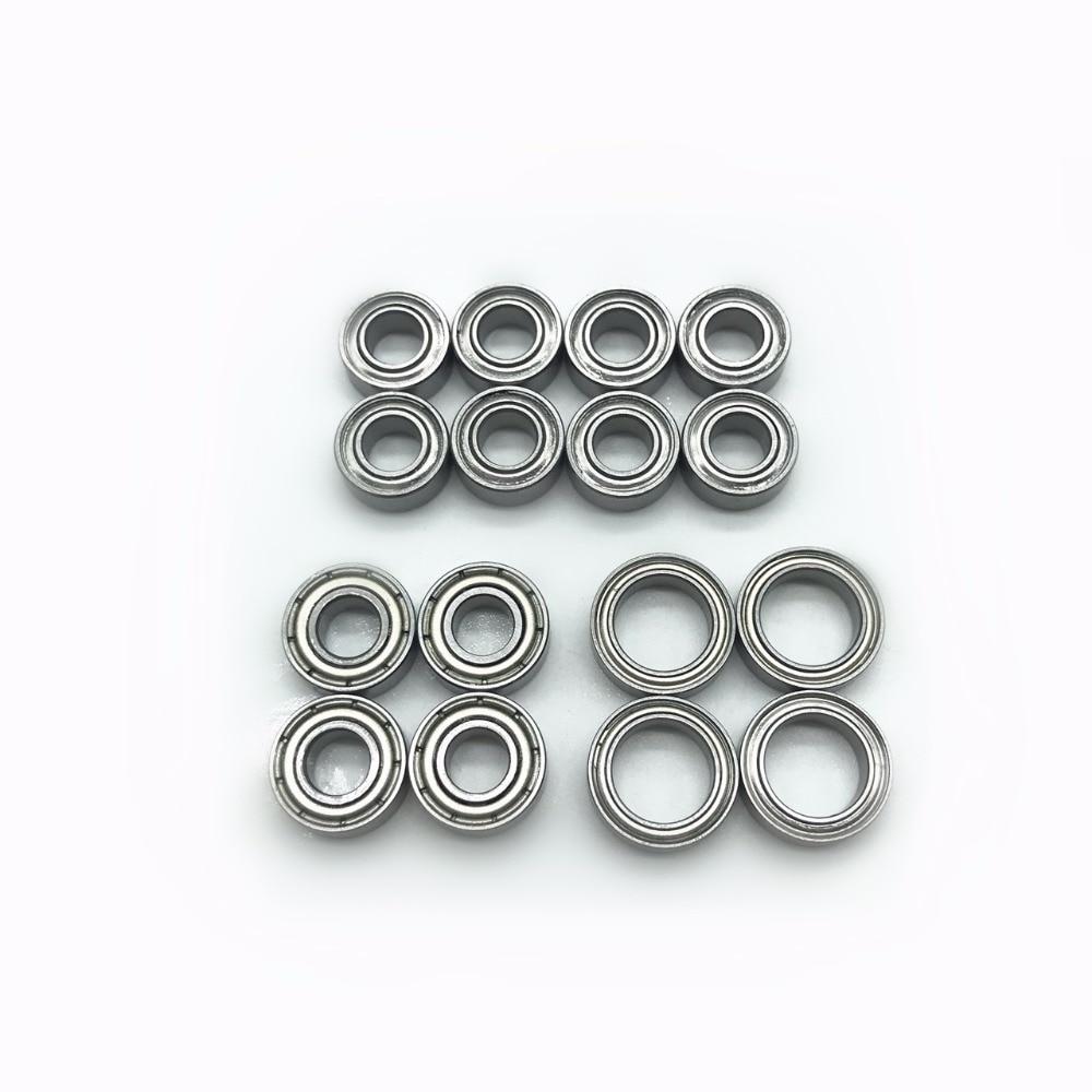 16pcs TT-02 Bearing Set Tamiya TT02 Complete Ball Bearing Kit Kugellager TT 02