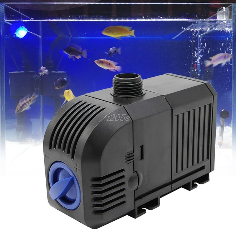 Pumpen 400gph 1500l/h 25 Watt Einstellbare Tauchwasserpumpe Aquarium Brunnen Aquarium Pumpen T12 Drop Ship Starke Verpackung