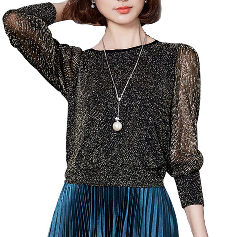 2018 Spring Summer women New lace shirt Plus size M-3XL blouse Autumn basic long sleeve shirts tops black green wine red