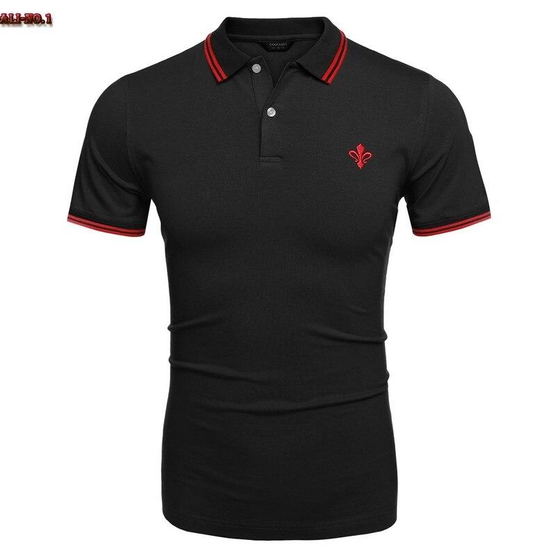 Popular logo polo shirt buy cheap logo polo shirt lots for Work polo shirts embroidered
