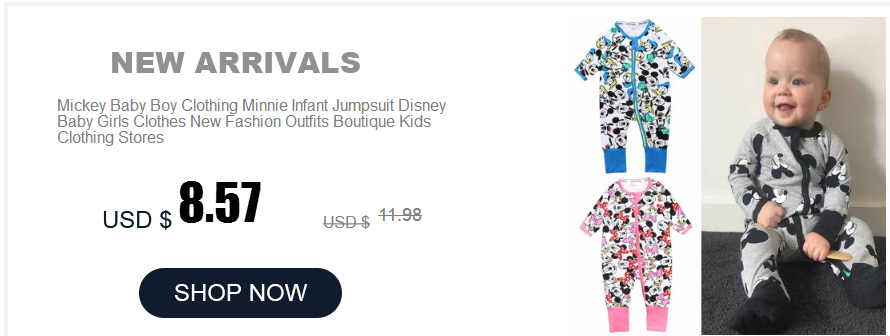 HTB1Qp8UeL1H3KVjSZFBq6zSMXXah Newborn Mickey Baby Rompers Disney Baby Girl Clothes Boy Clothing Roupas Bebe Infant Jumpsuits Outfits Minnie Kids Christmas