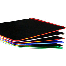 Brand Gamer Mouse Pad Colorful Light High Quality Non-slip Mat Rubber Bottom Mousepad Large Custom Your Own Logo Gamepad For PC