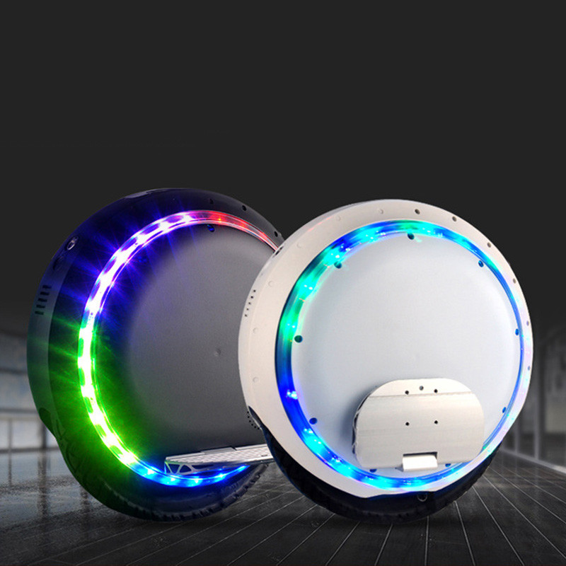 2017 Fashion Single wheel scooter unicycle electric self balance monowheel hoverboard skateboard With Bluetooth LED Light 528wh 8 inch hoverboard 2 wheel led light electric hoverboard scooter self balance remote bluetooth smart electric skateboard