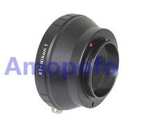Amopofo ai-n1, adaptador para nikon f ai lente para nikon 1 ai-s N1 J1 J2 V1 V2 V3 S1 AW1 J3 J4 J5 Câmera