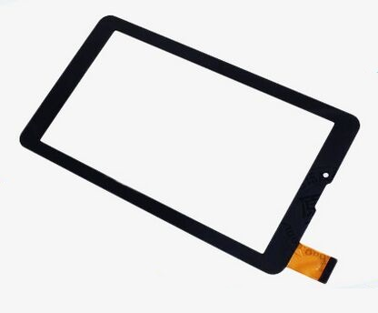 New touch screen For Excelvan 3G HD Phablet 7 inch MTK6572 Touch panel Digitizer Glass Sensor Replacement Free Shipping black english collar buttons front grid pattern shirt