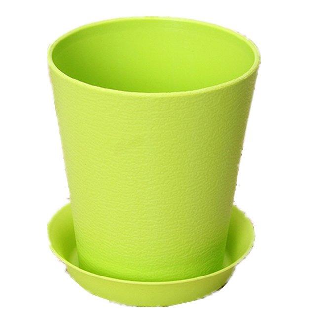 Mignon Plisse Vase Pot De Fleurs En Plastique Pour Maison Bureau