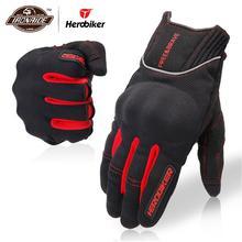 HEROBIKER полный палец мотоциклетные перчатки мужские мотоциклетные защитные перчатки Экипировка для верховой езды мотокросса перчатки для мотокросса