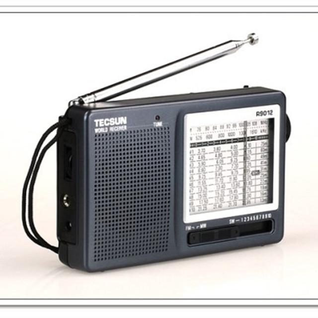 Tecsun R9012 radio Digital FM/AM Estéreo receptor de Radio TECSUN R-9012 Radio De Bolsillo para La Escuela o anciano de Radio envío gratis