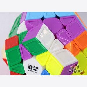 Image 3 - Magie cube puzzle QiYi XMD QiHeng S megaminxeds megamin x stickerless professionelle dodekaeder 12 seiten geschwindigkeit cube spielzeug spiel