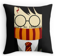 Harry potter stay cute Double size Printing Square Pillowcase for12 ''14''16''18'' 20''24'' inch free shipping