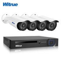 Witrue 8CH 1080P AHD DVR Video Surveillance System 4pcs 2 0MP Security Camera Sony IMX323 Outdoor