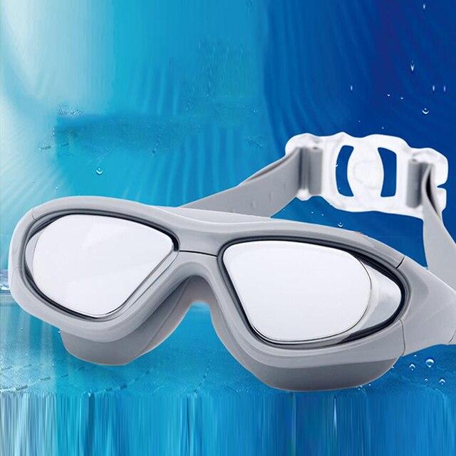 dc2fcf80af New Adult Professional Myopia Swimming Goggles Men Arena Diopter Swim  Eyewear Anti Fog Swimming Glasses Natacion Water Glasses
