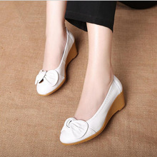Genuine Leather Oxford Shoes Women 2018 Fashion Women Shoes Casual Moccasins Loafers Ladies Shoes sapatilhas zapatos mujer
