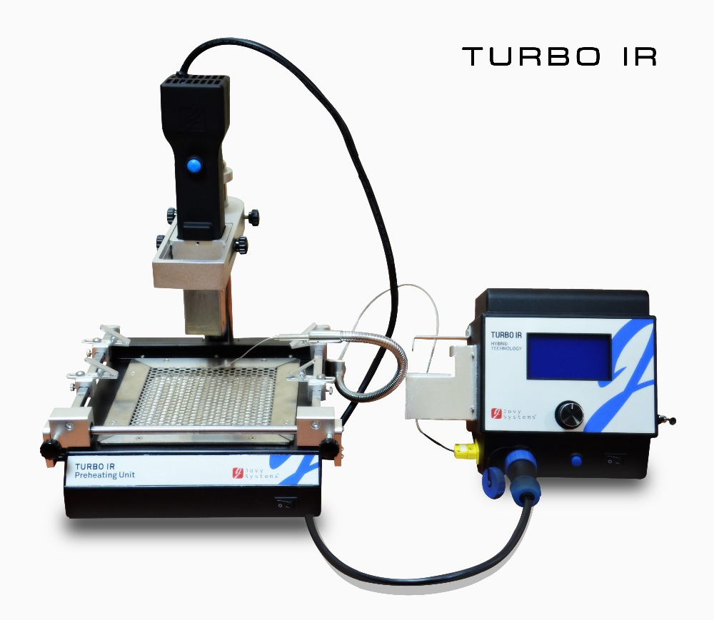 Free shipping Jovy Benchtop Rework System Turbo IR BGA repair machine hybrid technology soldering station цены
