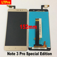 LTPro Top Quality LCD Display Touch Screen Digitizer Assembly For Xiaomi Redmi Note 3 Pro Special Version Edition SE 152mm Phone