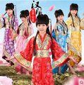 Novo Chinês antigo traje para as crianças roupas palco trajes tang terno hanfu roupas traje princesa das meninas para TaiPing Infanta