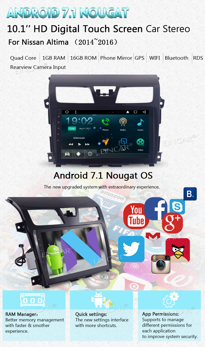 Worldwide delivery android head unit 10 inch in NaBaRa Online