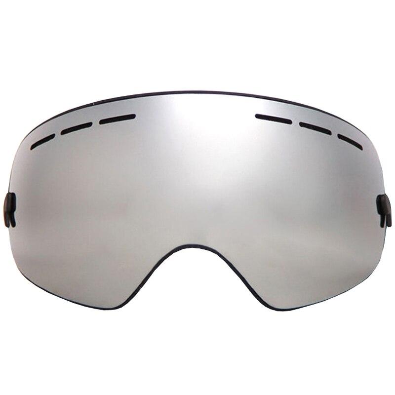 Prix pour Professionnel Ski Lunettes Double Lentille UV400 Anti-brouillard Adulte Snowboard Ski Lunettes Femmes Hommes Neige Ski Masque Lunettes