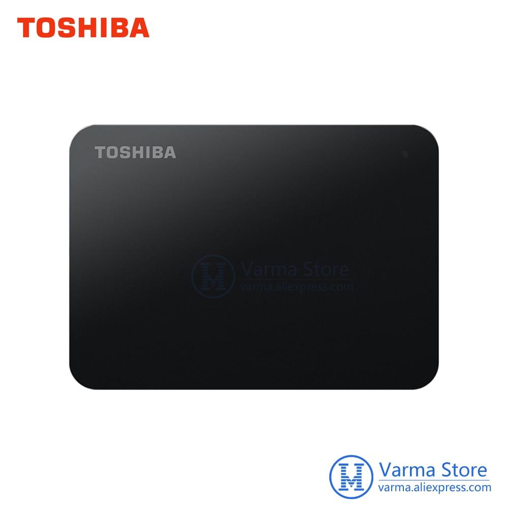 TOSHIBA Original External Hard Drive 1TB 2TB HDD 2.5 USB 3.0 Portable Hard Drive External Storage 1tb Hard Disk HD For Laptop