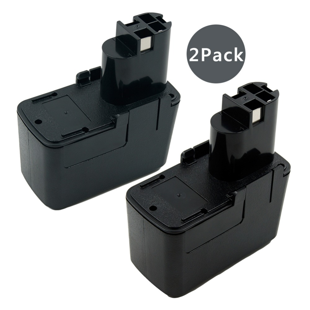 2 pièces 12 V Ni-cd 2000 mAh Batterie De Remplacement Pour Bosch 12 V 2.0Ah BAT011 BH1214H BH1214L 3315 K 3500 B2300